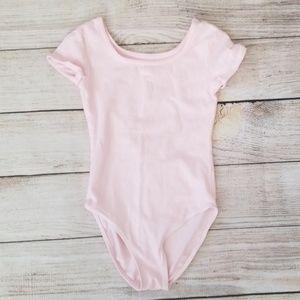 Girl's Danskin Pink Leotard